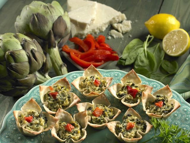 alcachofa espinaca