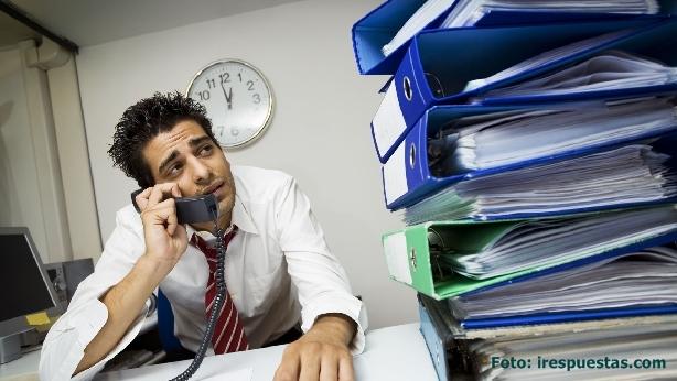 Cómo controlar el estrés en el trabajo